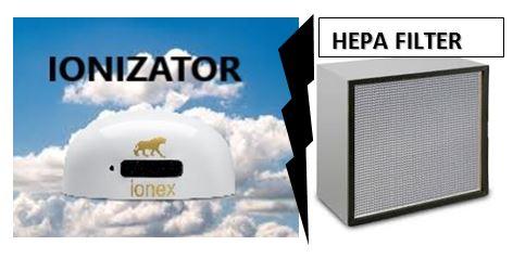 Razlika između ionizatora i pročišćivača zraka s HEPA filtrima